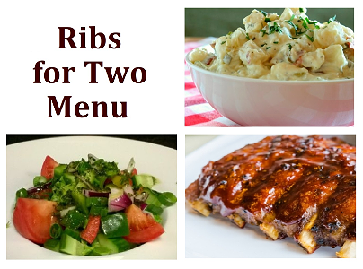 Foto Hot Ribs for Two Menu