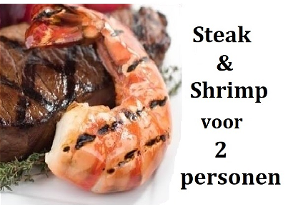 Foto Steak & Shrimp for 2